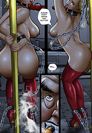 Cagri fansadox 523 Red Eagle - Joan Rivera is Red Eagle, and she's the beacon of light in this blighted metropolis